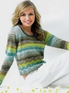 chirimen-sweater
