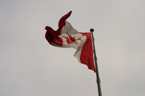 The Country's Biggest Canadian Flag