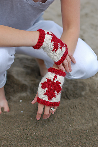 Canada Day Knits