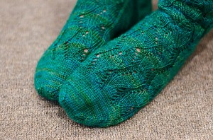 Rushing Tide Socks